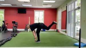 How To Do A Single Leg Toe Touch
